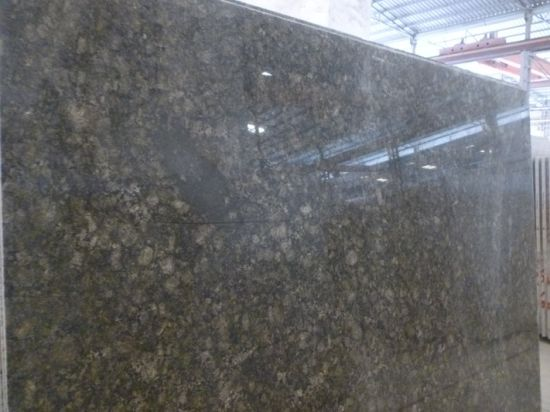 Butterfly Green Granite Slab, Green Granite pictures & photos