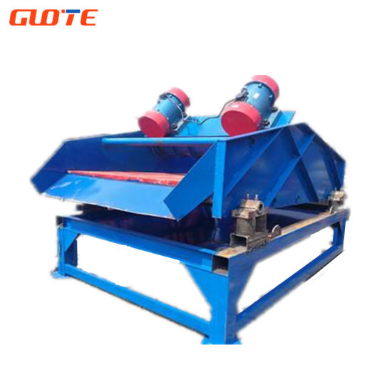 Gtts Industrial High Efficiency and High Speed Linear Dewatering Vibrating Screen