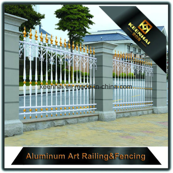 Quality Assured Privacy Aluminum Garden Fence For High Sequrity