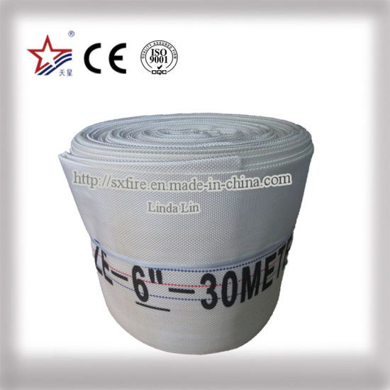 6 Inch Water Discharge Fire Hose PVC Pipe