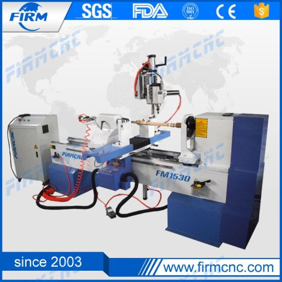 China CNC Wood Lathe Machine for Turning Wooden Legs