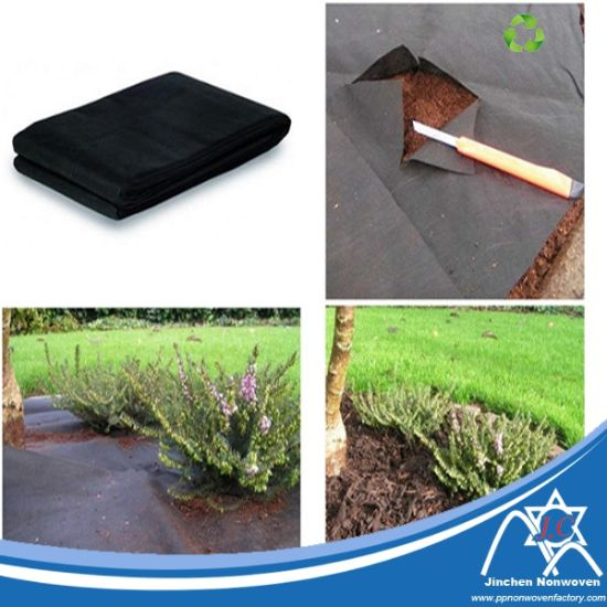 Eco-Friendly Biodegradable Non Woven Landscape Cover Fabric pictures & photos