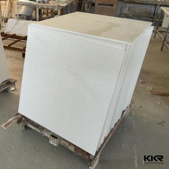 Chinese White Marble Quartz Flooring Tiles For Bathroom Q1705084