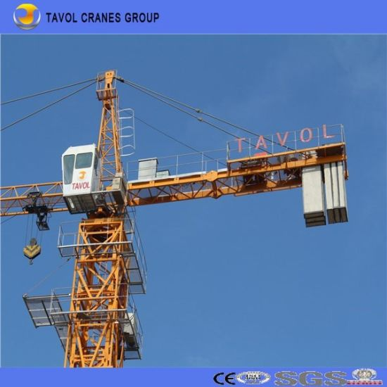 7055 Construction Equipment Tower Crane 70m Jib Length Tower Crane pictures & photos