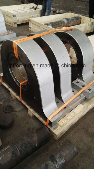 Q235 Steel Forged Bearing Base Customized pictures & photos