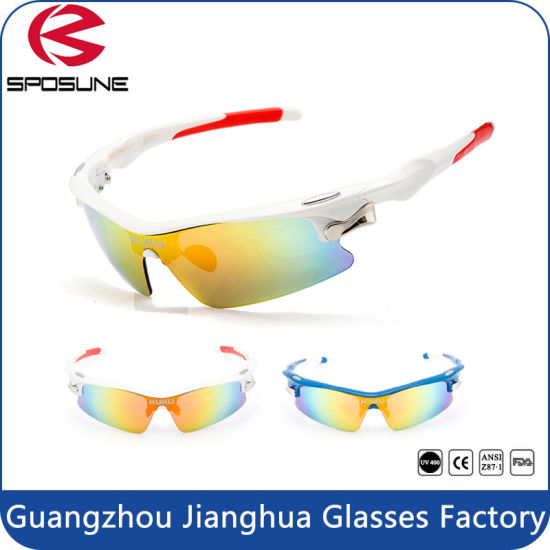 74516354122 Lightweight Tr90 Coating High Impact Lens Cycling Sunglasses pictures    photos