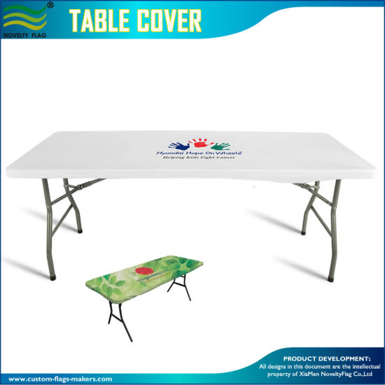 China Fast Delivery Custom Design Printing Stretch Table Top Covers - Table top covers custom