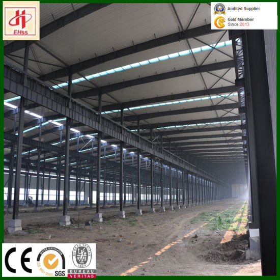 Q235B Q345b Prefab H Section Steel Beam for Warehouse Workshop