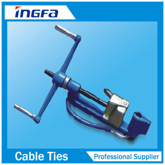 American Terminal At-200 Cable Tie Fastening Tool with Adjustable Bundling Pressure