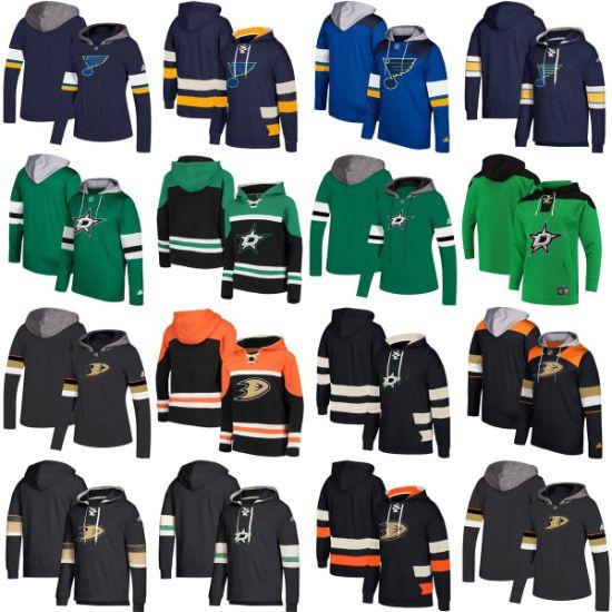 Wholesale 2019 Dallas Stars Anaheim Ducks Blues Putian Sweaters Pullovers Hoodies