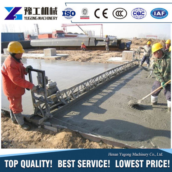 Cement Leveling Products : China frame concrete floor leveling machine road vibratary
