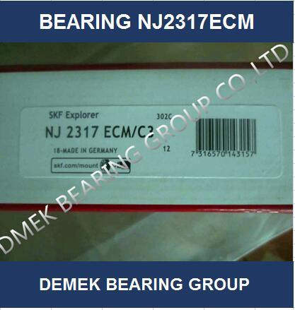 High Quality Cylindrical Roller Bearing Nj2317 Ecmc3 with Brass Cage pictures & photos