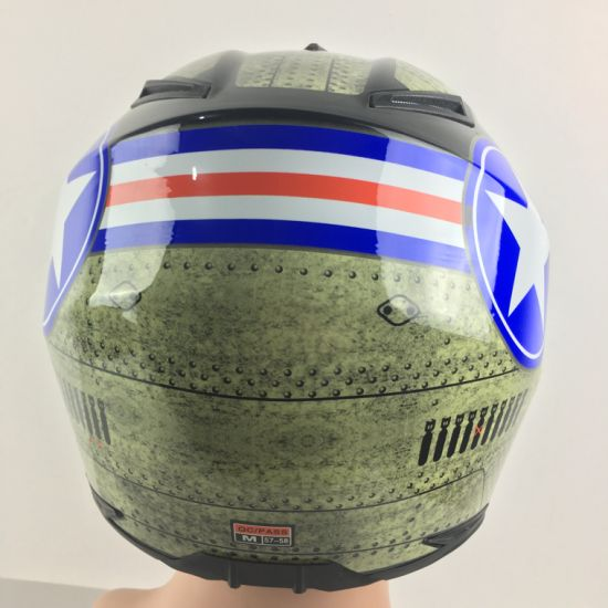 Fashion New Designed Cross DOT Motorcycle Casco Plastic Helmet for Motorcycle pictures & photos