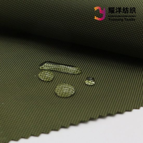 840d Nylon Oxford Fabric with PU Coated for Outdoor Backpack pictures & photos