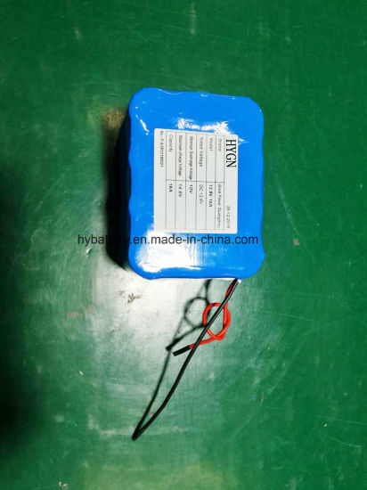 Hot Sell Li-ion 18650 Rechargeable Battery Pack: 12V 16000mAh Battery with  PCM