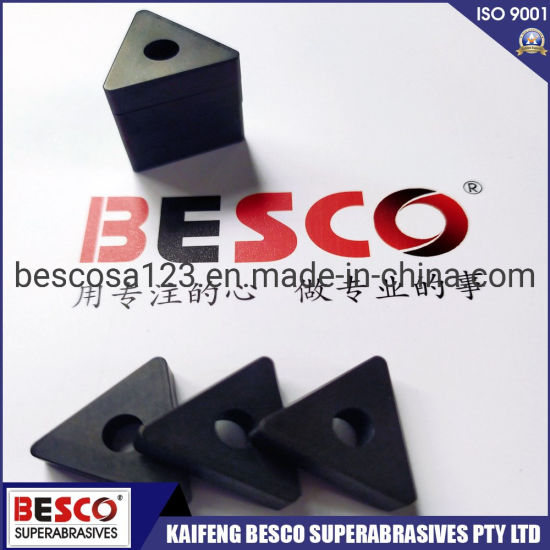 PCBN Cutting Tools Non Carbide Inserts CBN Cutting Inserts for Grey Cast Iron pictures & photos