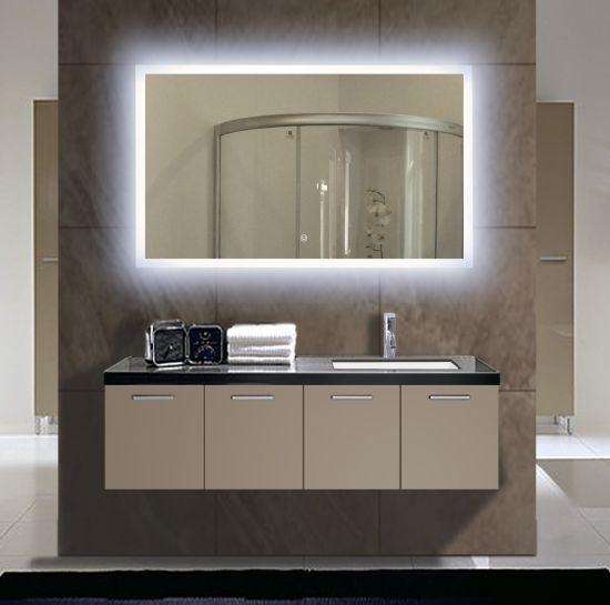Classic European Style 5mm Bathroom Touch Sensor LED Mirror with Ce Certificate Approved