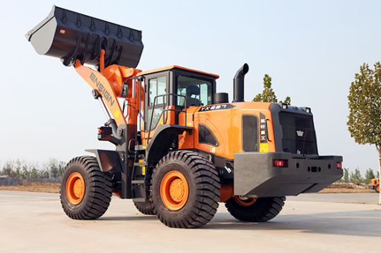 Chinese Wheel Loader Front End Loader Ensign Wheel Loader Yx667 pictures & photos