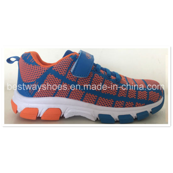 Flyknit Sporting Shoes for Boys or Girls pictures & photos