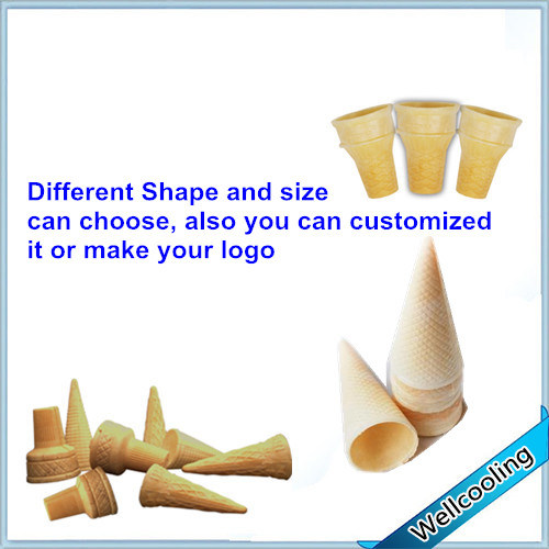 Easy Operation Can Custom Ice Cream Cone pictures & photos