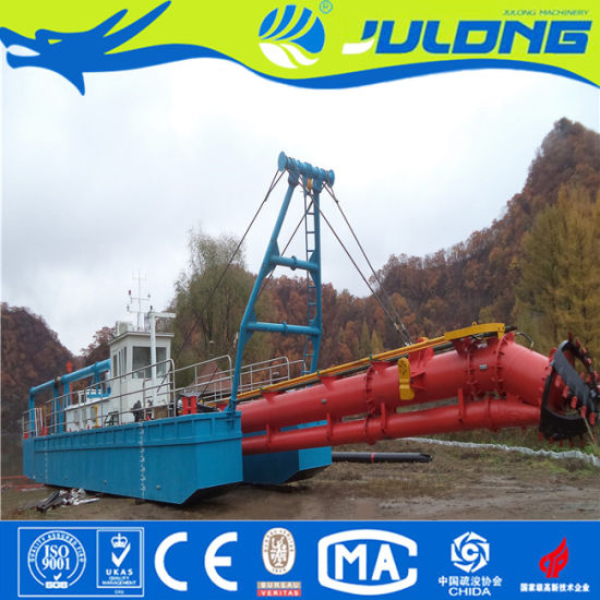 Professional Factory Cutter Suction River/Sea/Lake/Canal/Channel Sand Dredger for Sale