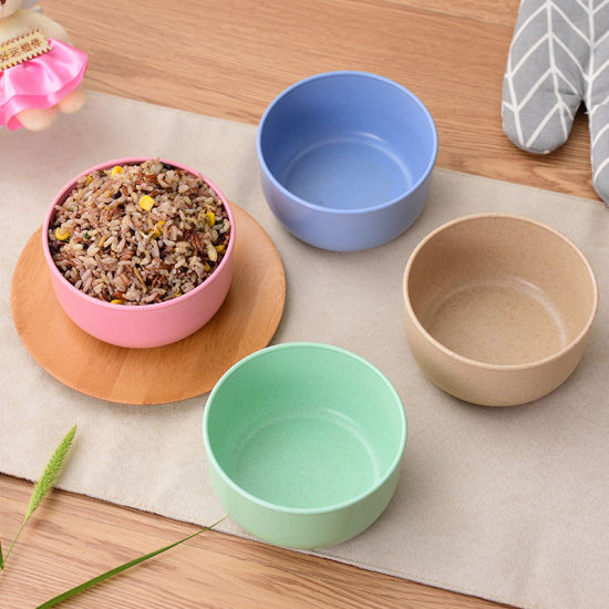 Good Quality Bamboo Fiber Bowl /Salad Bowl (YK-B3019) pictures & photos