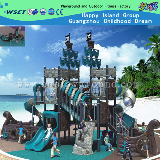 Large Pirate Ship Playground for Amusement Park Outdoor Playground (HK-5005A) pictures & photos