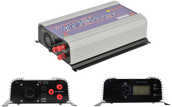 Second Generation, 2000W Wind Power Grid Tie Inverter Model Sun-2000g2-Wal-LCD pictures & photos