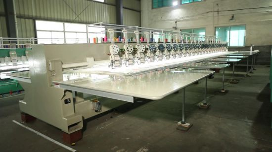 New Embroidery Machine with Good Function with Dahao Monitor Sequin Cording