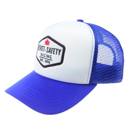 Custom Embroidery Patch Fashion Mesh Trucker Cap Promotional Sport Man  Cotton Visor Hats 4f5d3701424