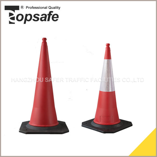 1 Mtrs Two Part Traffic Cone pictures & photos