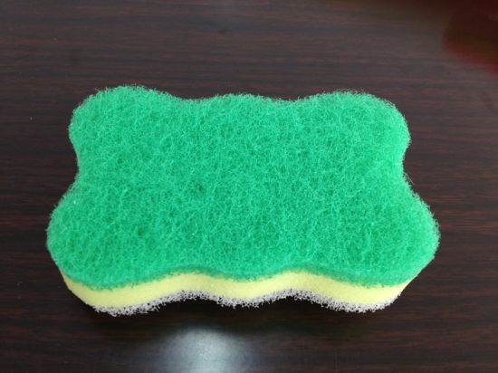 Widely Use for Housework Flower Shape Loofah Pad, Cleaning Scouring Pad pictures & photos