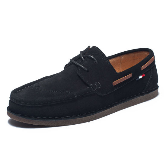 Customized Suede Flat Shoes Suede Driving Shoes Suede Dance Shoes Original and New