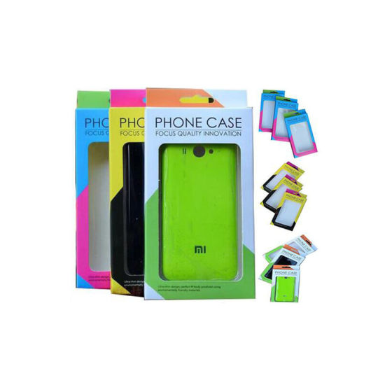 Cheap Mobile Phone Case Packaging Box with Window pictures & photos