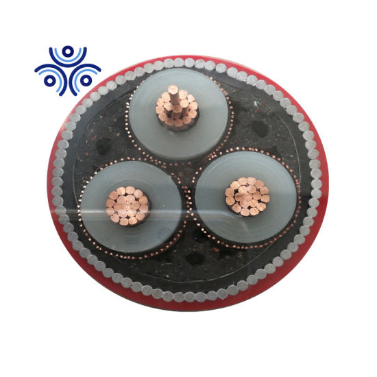 240mm2 185mm2 150mm2 15kv Copper XLPE Underground Cable Steel Wire Cable Power Cable