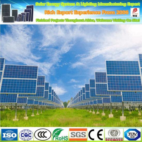 Solar Panel with 72 Cells 5bb Poly 300W 310W 320W 330W 340W 350W for Solar Power System