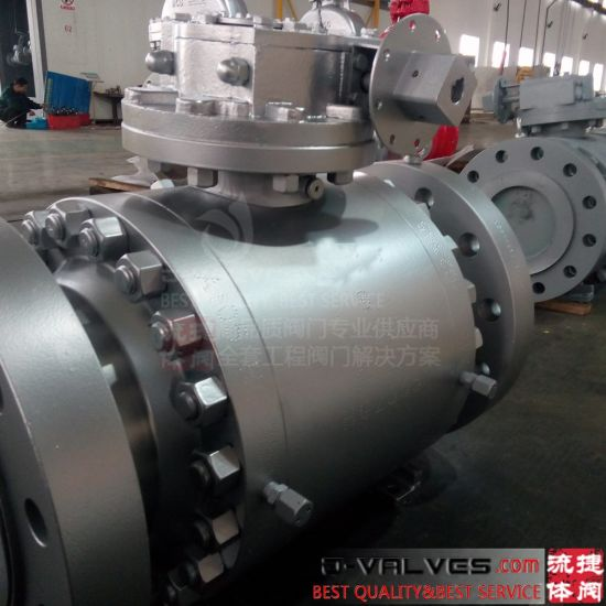 Stainless Steel Valves/Duplex Stainless Steel/Ni Alloy/Titanium/Aluminum Bronze Forged Flanged Ball Valves