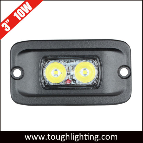 China 12V 3 10W Spot Flood Mini Flush Mount LED Work Lights for