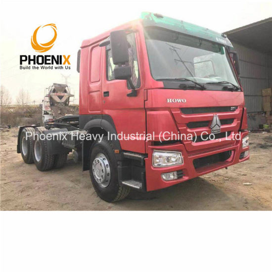 Hot Sale 6X4 Used Sinotruck HOWO Tractor Head Truck with Excellent Condition for Africa Market