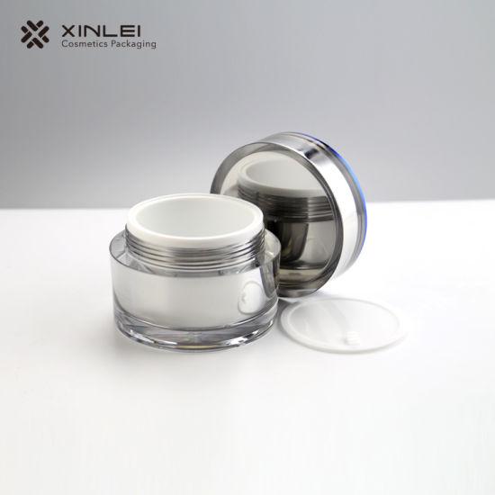 15g 30g 50g 100g 3.5oz Big Size Round Acrylic Jar for Face Mask and Body Scrub