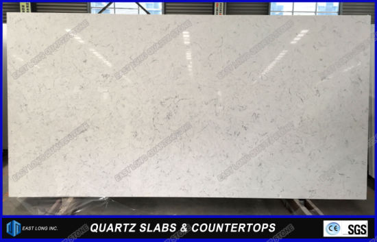 New Designed Home Decoration Quartz Stone Bar Tops for Kitchen