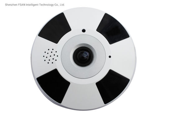 Fsan 12MP Infrared Night Vision Full Angle Fisheye IP Camera