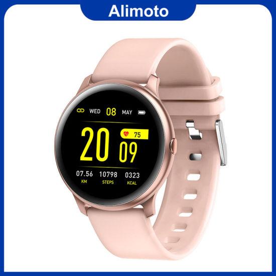 Alimoto Waterproof Heart Rate Monitor Fitness Tracker Sports Smart Watch
