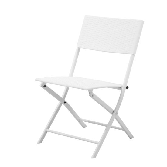 Wholesale Outdoor Garden Picnic White Portable Plastic Folding Chairs