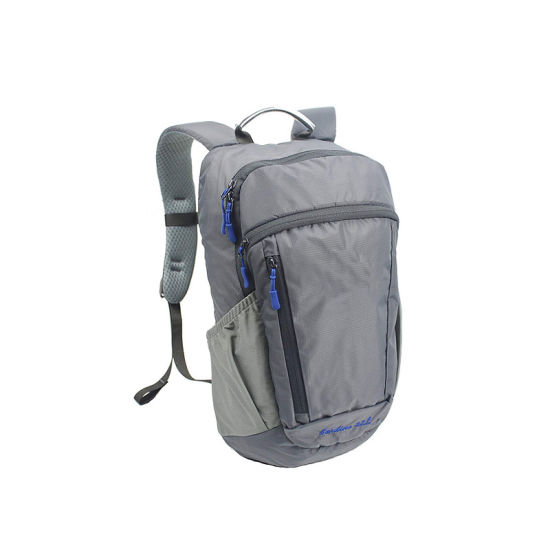 Small Travel Backpack Hiking Daypack 22L - Laptop Compartment Rain Cover for Sport, Climbing, Riding