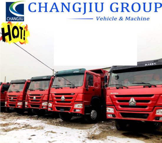 Used 351-450HP Sinotruck 6X4 HOWO Dump Truck, Excellent Condition with Low Price for Sale