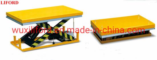 Heavy Duty Stationary Electric Hydraulic Scissor Lift Table Hw1001