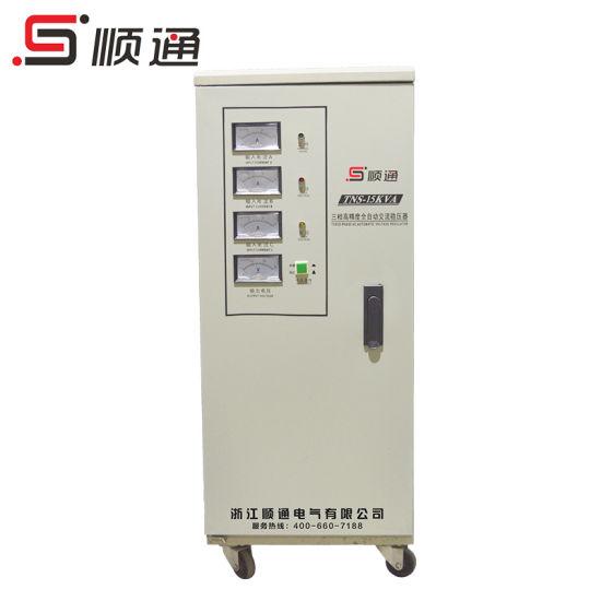 SVC/Tns 15kVA High Accurancy Three Phase Automatic Voltage Regulator/Stabilizer