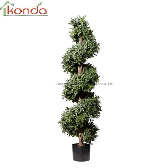 High Quality Indoor and Outdoor Graden Decoration Artificial Topiary Tree Grass Plants