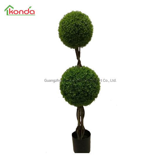 Faux Wholesale Plastic Green Plant Accessories for Customized Artificial Tree Decoration